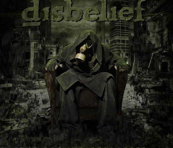 Disbelief - The Ground Collapses album cover
