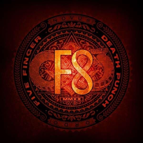 Five Finger Death Punch - F8-album cover