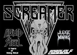 SCREAMER – Liquid Steel – Judge Minos – Roadwolf – 04.04.20 Livestage Innsbruck