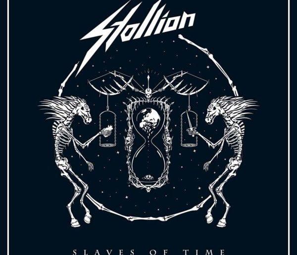 Stallion - Slaves Of Time album cover