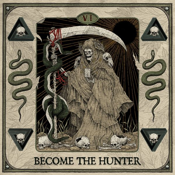 Suicide Silence - Become The Hunter album cover
