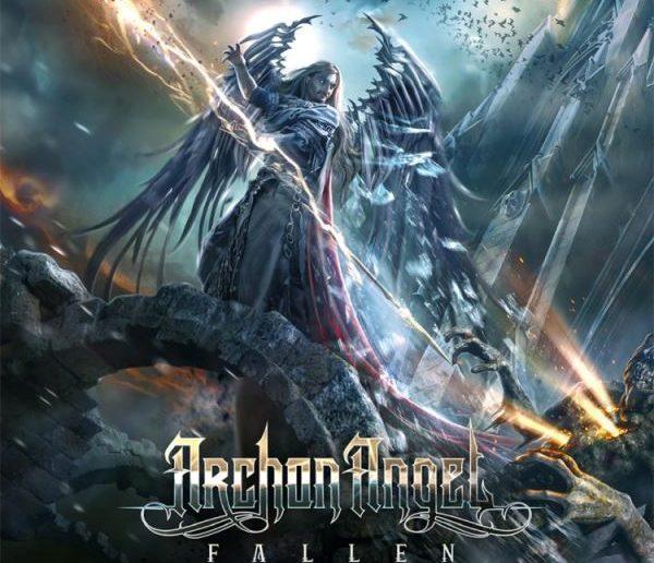 archon angel - fallen album cover