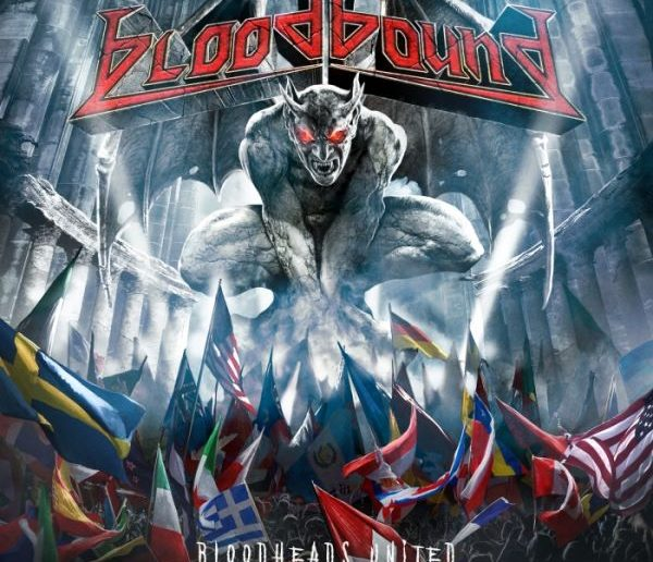 bloodbound - bloodheads united album cover