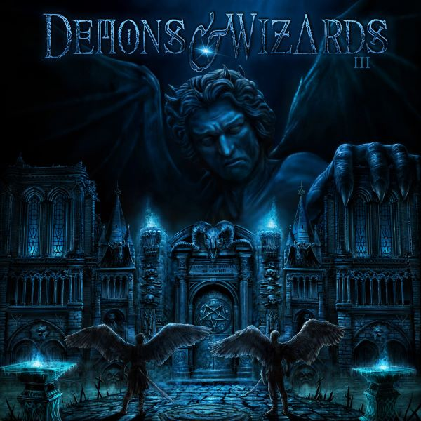 demons and wizards - III album cover