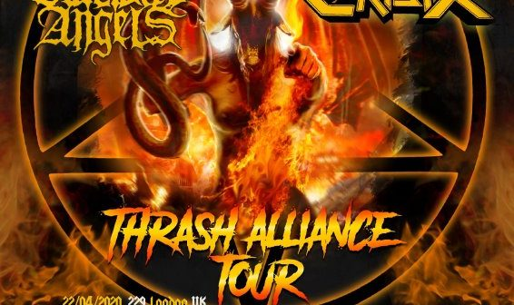 destruction - thrash alliance tour flyer 2020