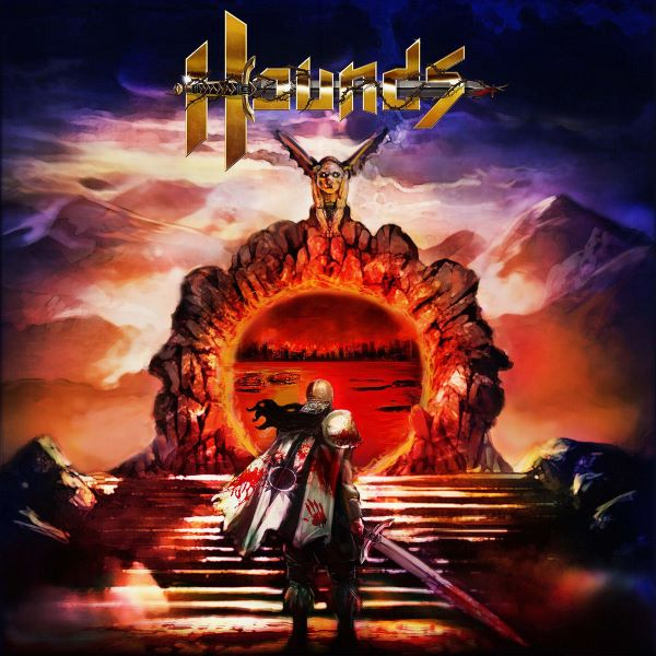 hounds - warrior of sun album cover