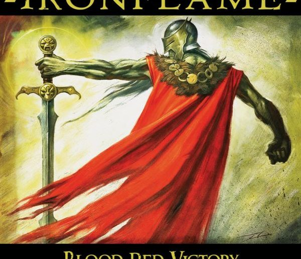 ironflame - blood red victory album cover