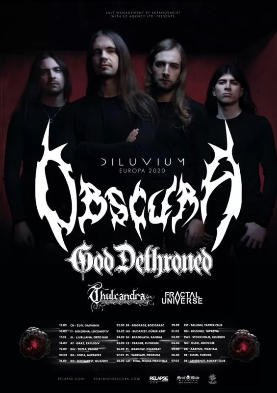 obscura - tour flyer 2020