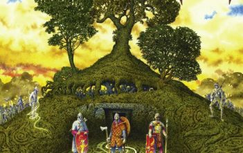 Dark Forest - oak ash thorn album cover
