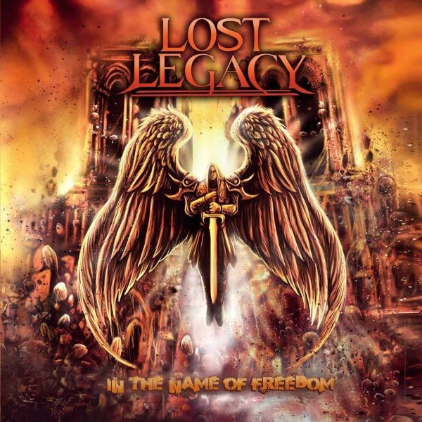 LOST LEGACY - In the Name of Freedom album cover