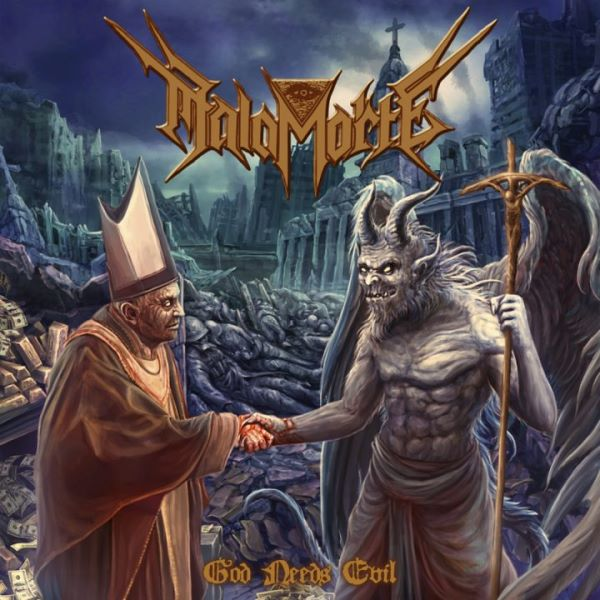 Malamorte - god needs evil album cover