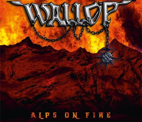 WALLOP - Alps On Fire album cover