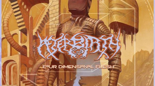 afterbirth - four dimensional flesh album cover