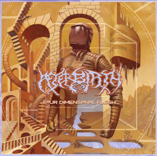 afterbirth - four dimensional flesh album cover