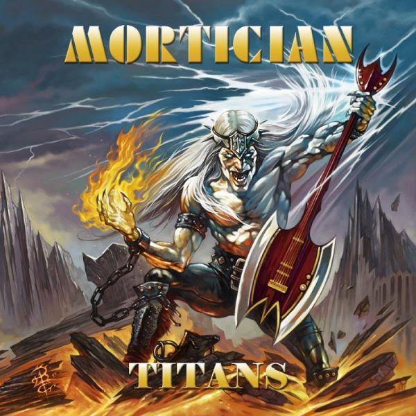 mortician - titans album cover