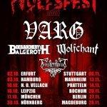 VARG kündigen WOLFSFEST Tour 2020 an