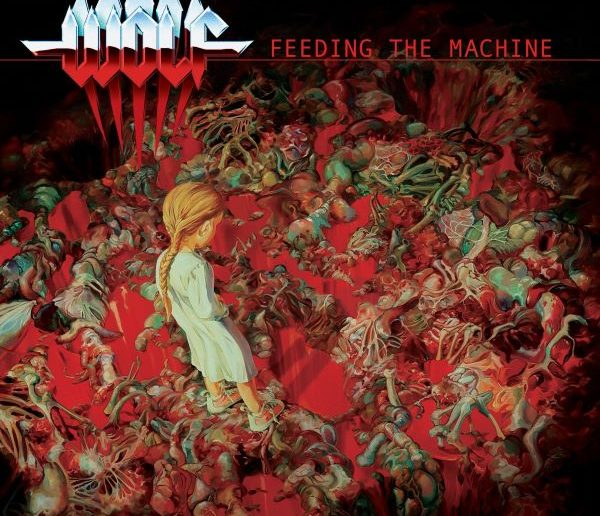 wolf - feeding the machine album cover