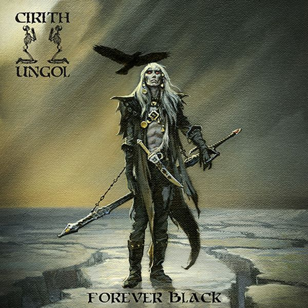 Cirith Ungol - Forever Black album cover