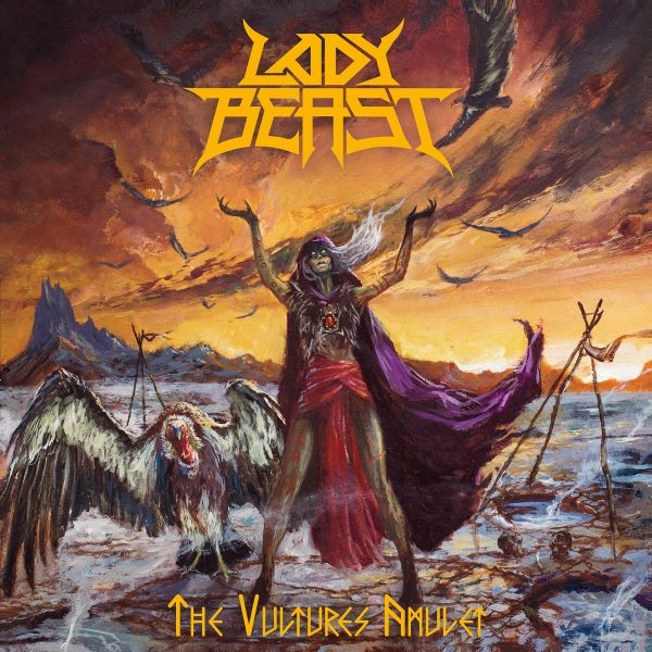 Lady Beast - The Vultures Amulet album cover