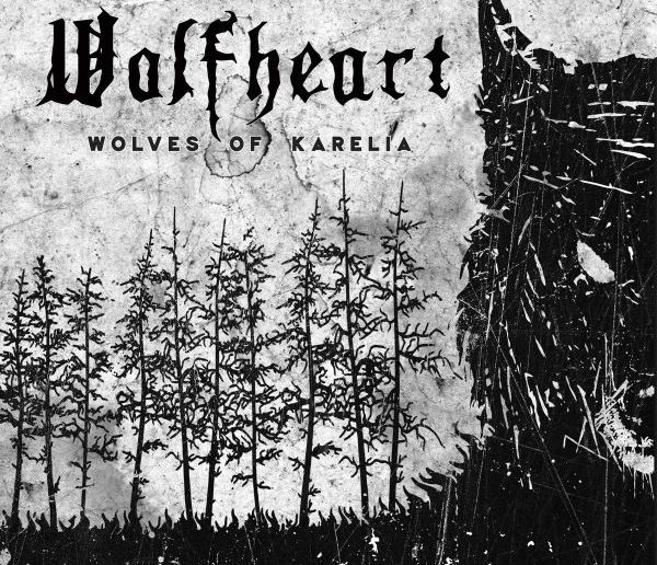 WOLFHEART - Wolves Of Karelia album cover