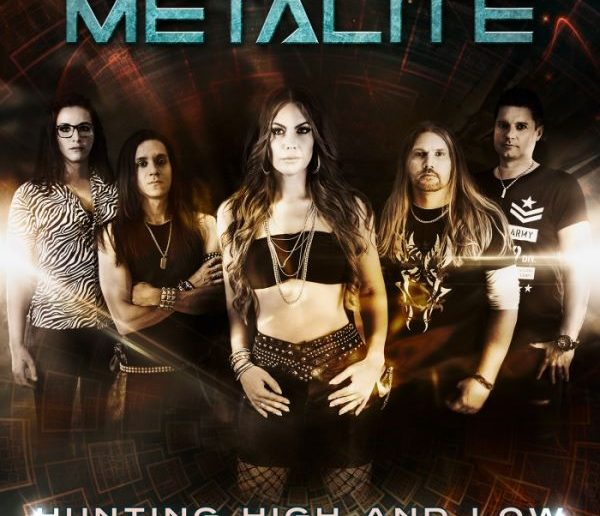 metalite - hunting high and low single cover