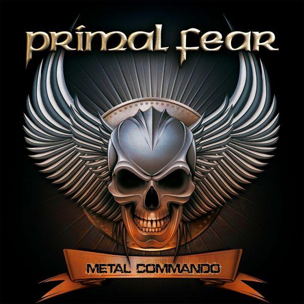 primal fear - metal commando album cover