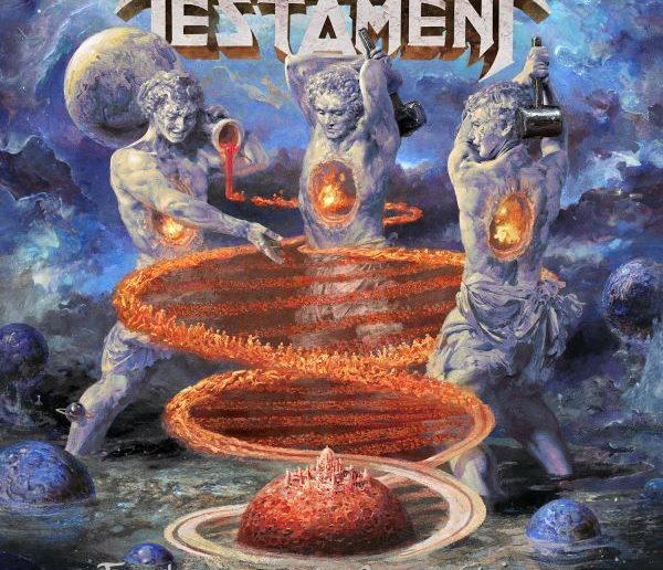 testament - titans of creation album cover