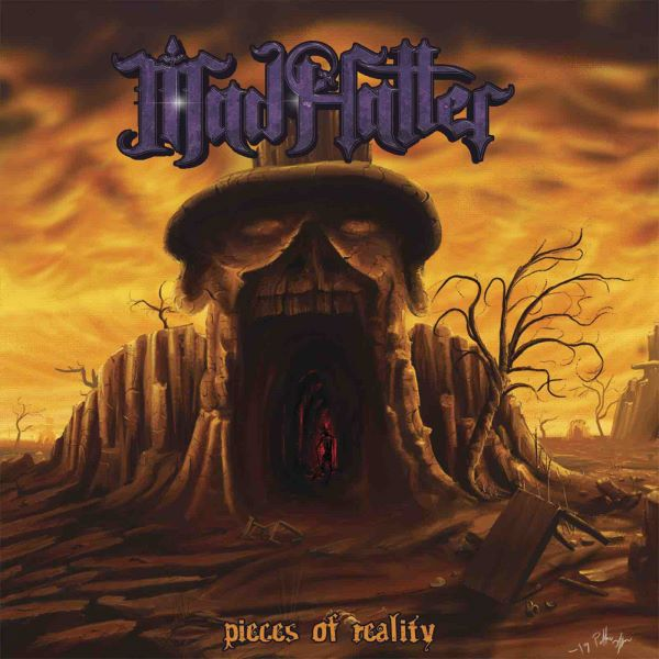 Mad Hatter - Pieces Of Reality album cover