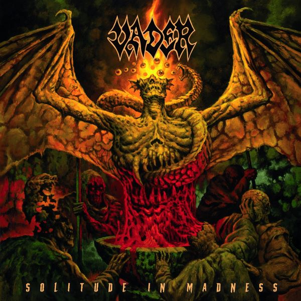 Vader - Solitude In Madness album cover