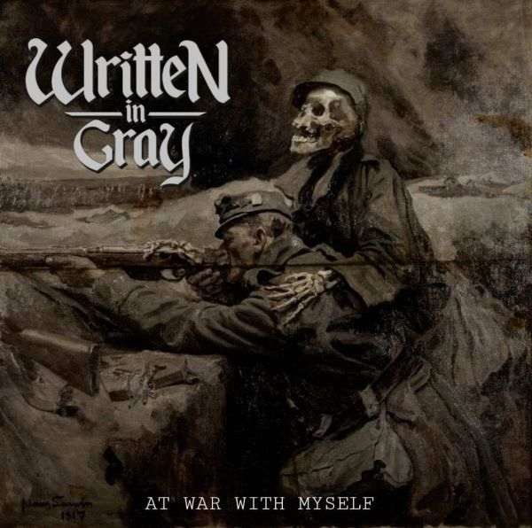 Written in Gray - At War With Myself album cover
