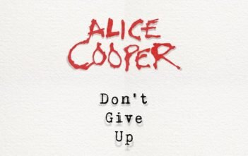 alice cooper - dont give up singel cover