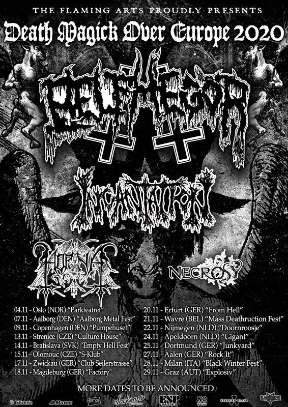 belphegor - tour flyer 2020