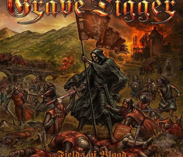 grave digger - fields of blood album cover