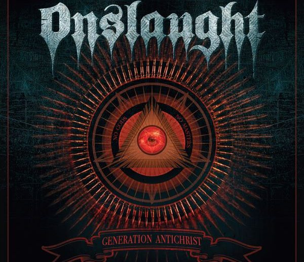 onslaught - generation antichrist album cover