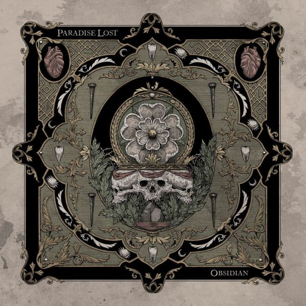 paradise lost - obsidian album cover