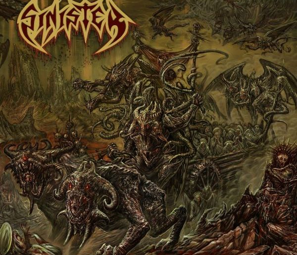 sinister - Deformation Of The Holy Realm album cover