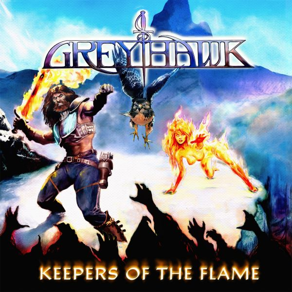 Greyhawk - Keepers of the Flame album cover
