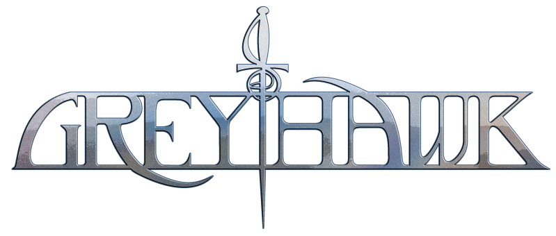 Greyhawk - Logo Steel
