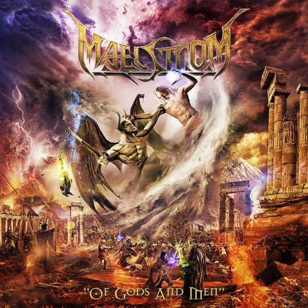 MAELSTROM - Of Gods And Men album cover