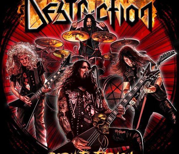 destruction - born to thrash album cover