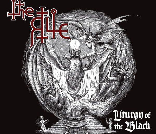the rite - Liturgy of the Black album cover
