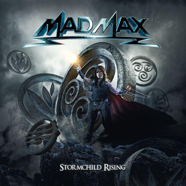 Mad Max - Stormchild Rising album cover