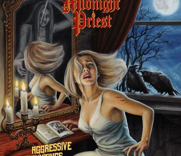 Midnight Priest - Aggressive Hauntings album cover