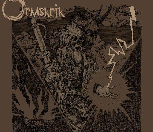 Ormskrik - Ormskrik album cover