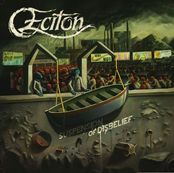 Eciton - SUSPENSION OF DISBELIEF - album cover