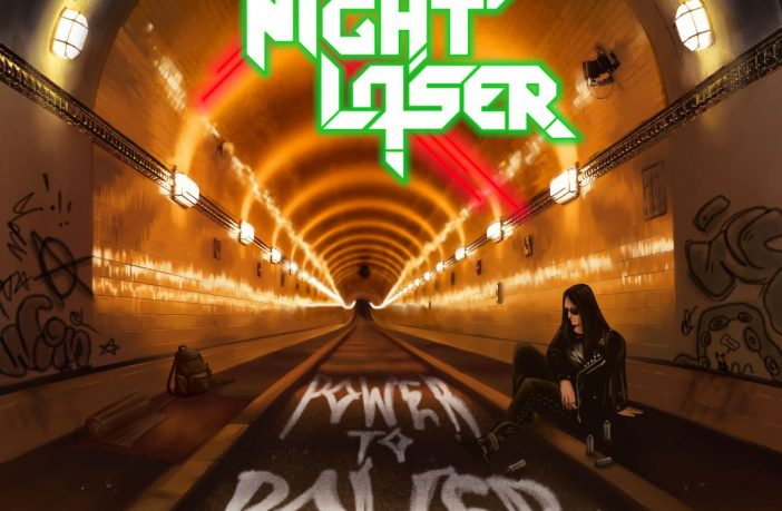 Night Laser - Power To Power - album cover