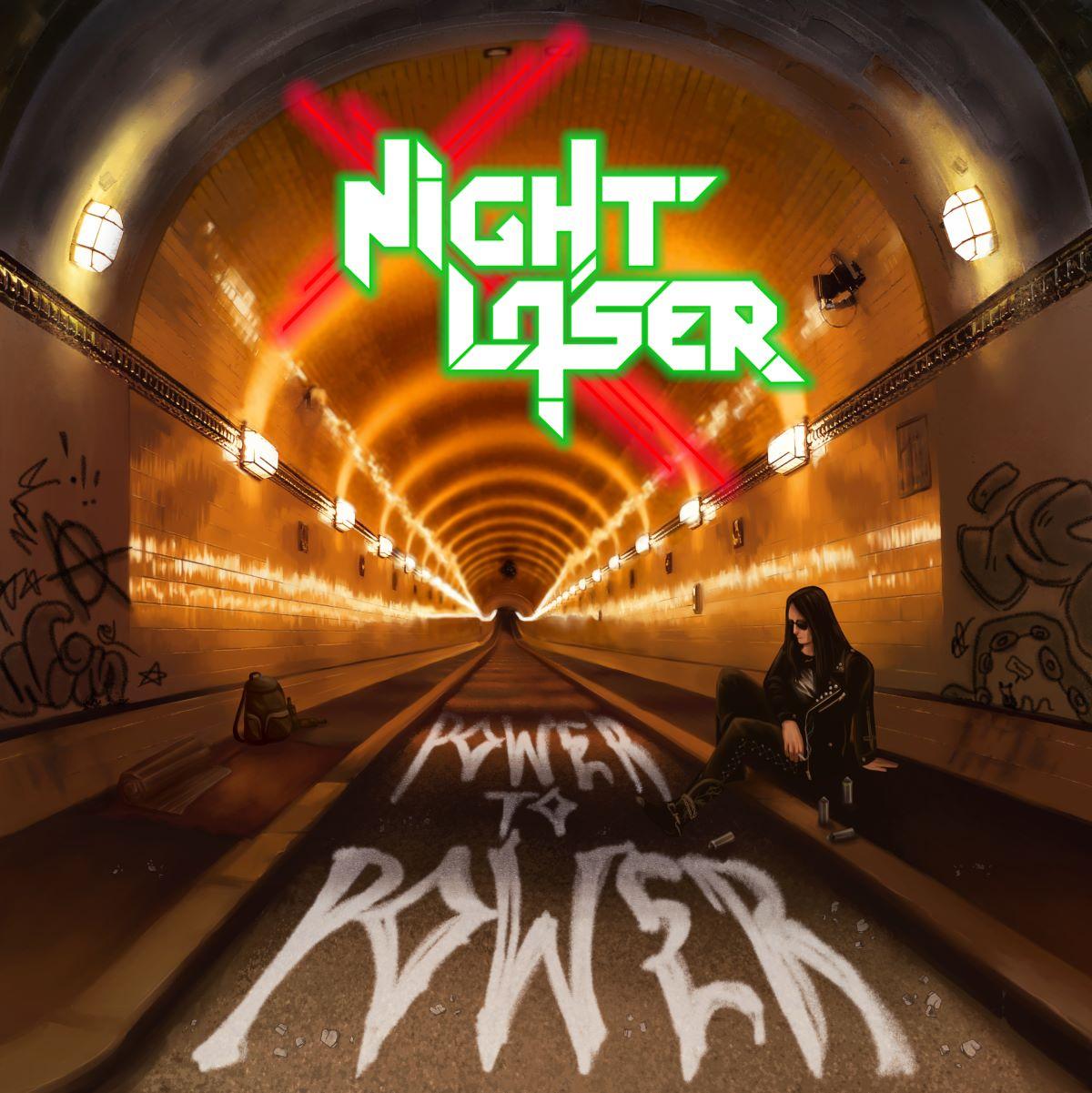 Night Laser - Power To Power - album cover