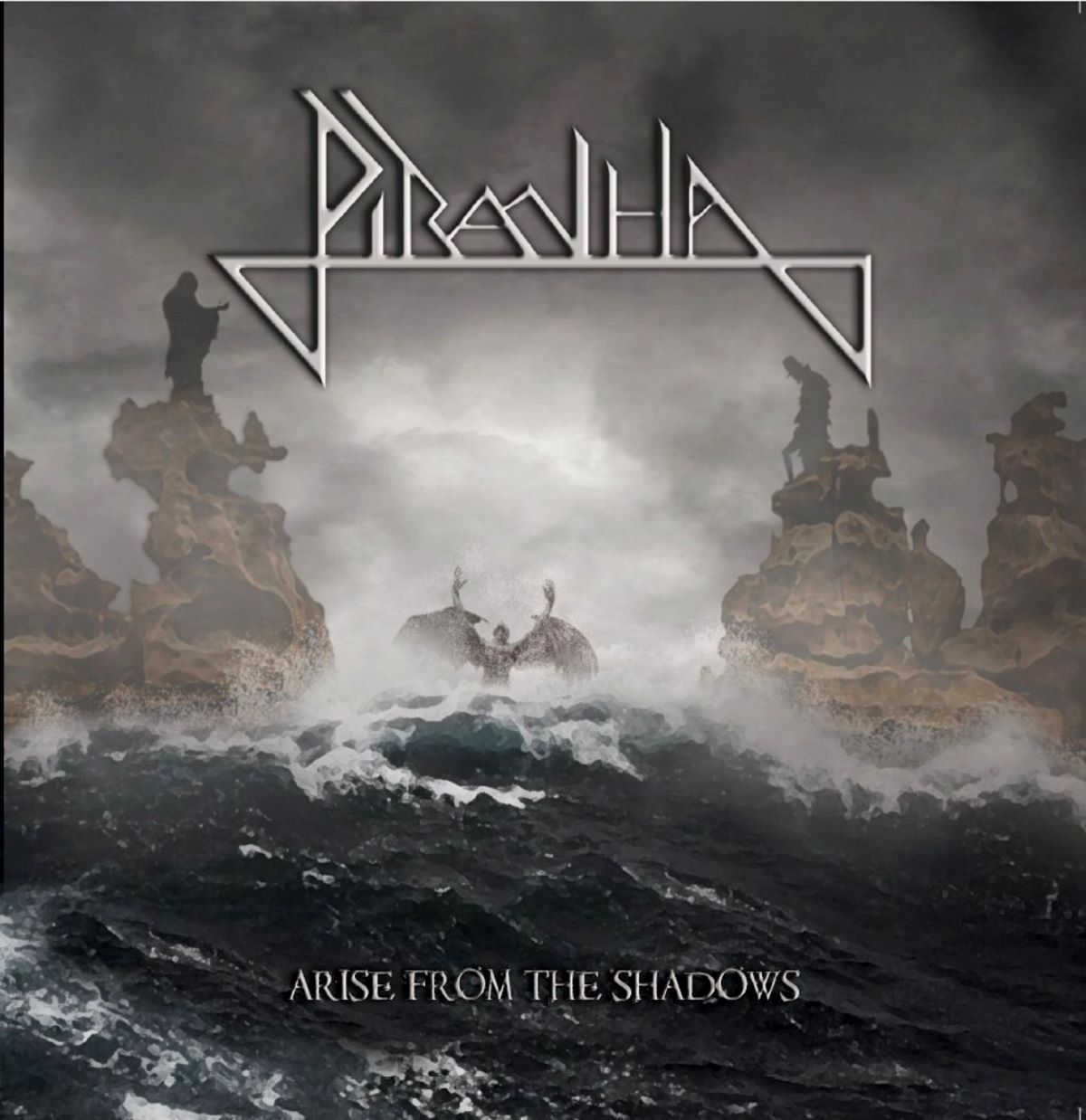 Piranha - Arise from the shadows - album cover