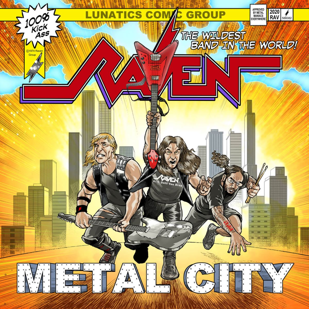 Raven - Metal City - album cover