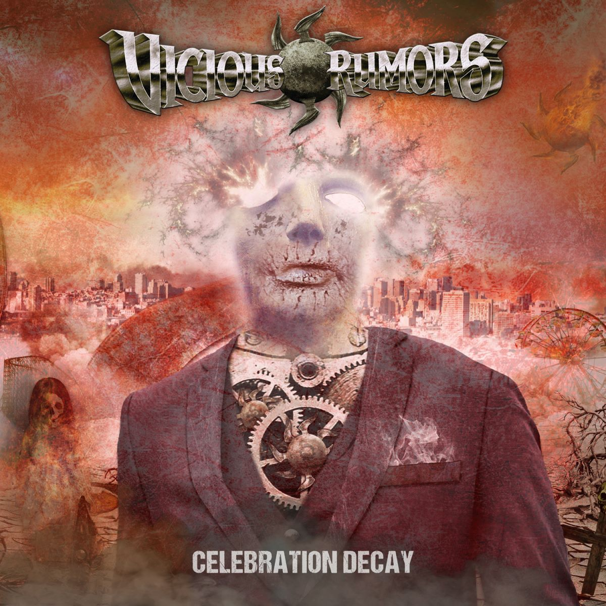 VICIOUS RUMORS - Celebration Decay - album cover